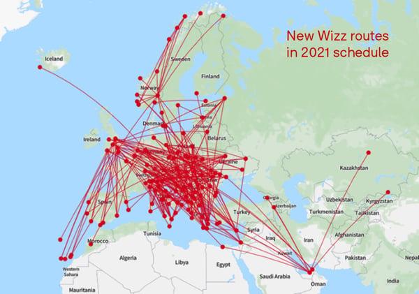 WizzAir_Routes_OAG_Mapper
