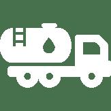 Fuel Truck Icon white