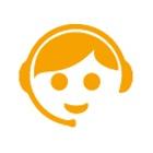 Icon-CustomerService-orange