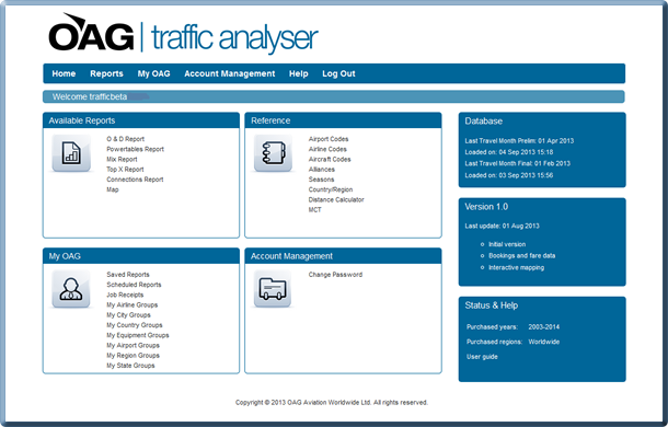Traffic Analyser News