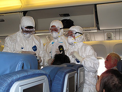 How will Ebola affect the aviation industry?